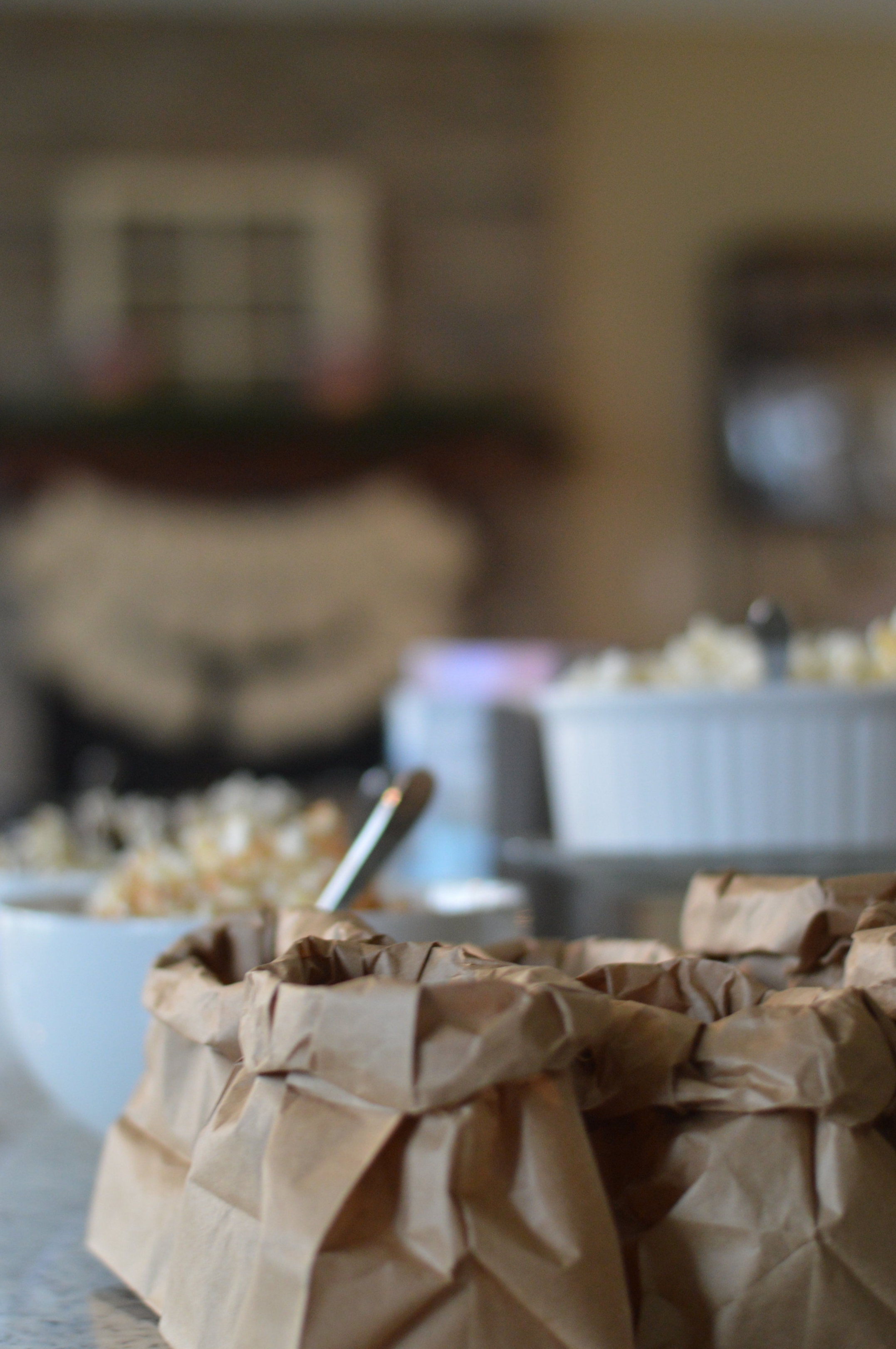 popcorn bar via The Little Style File