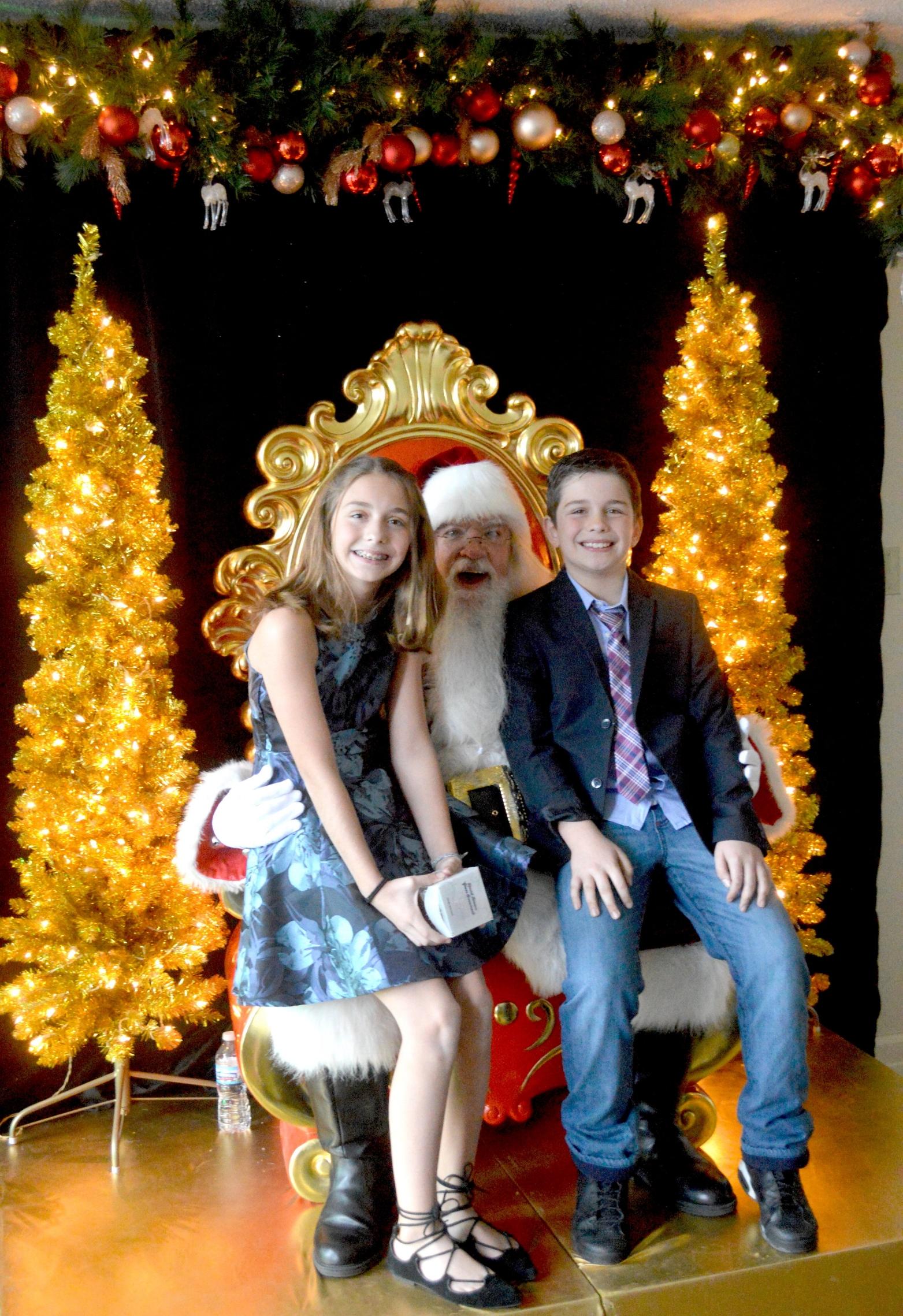 best chicago santa