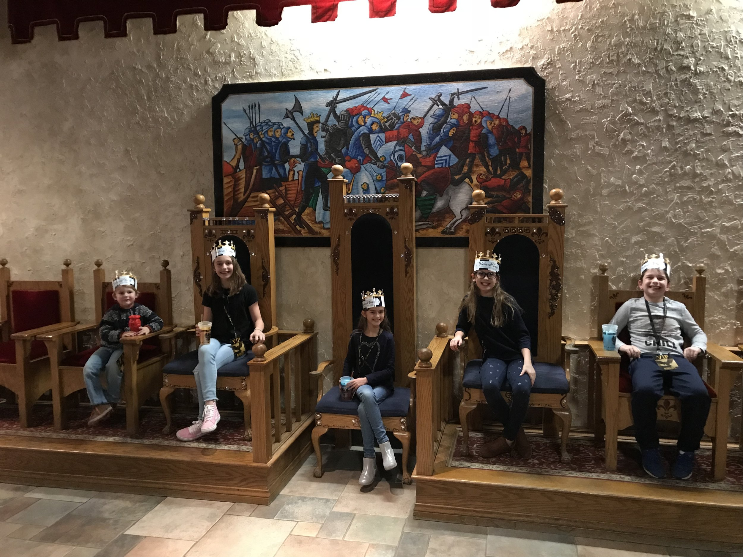 Thanks to Medieval Times for inviting us to dinner and the tournament!