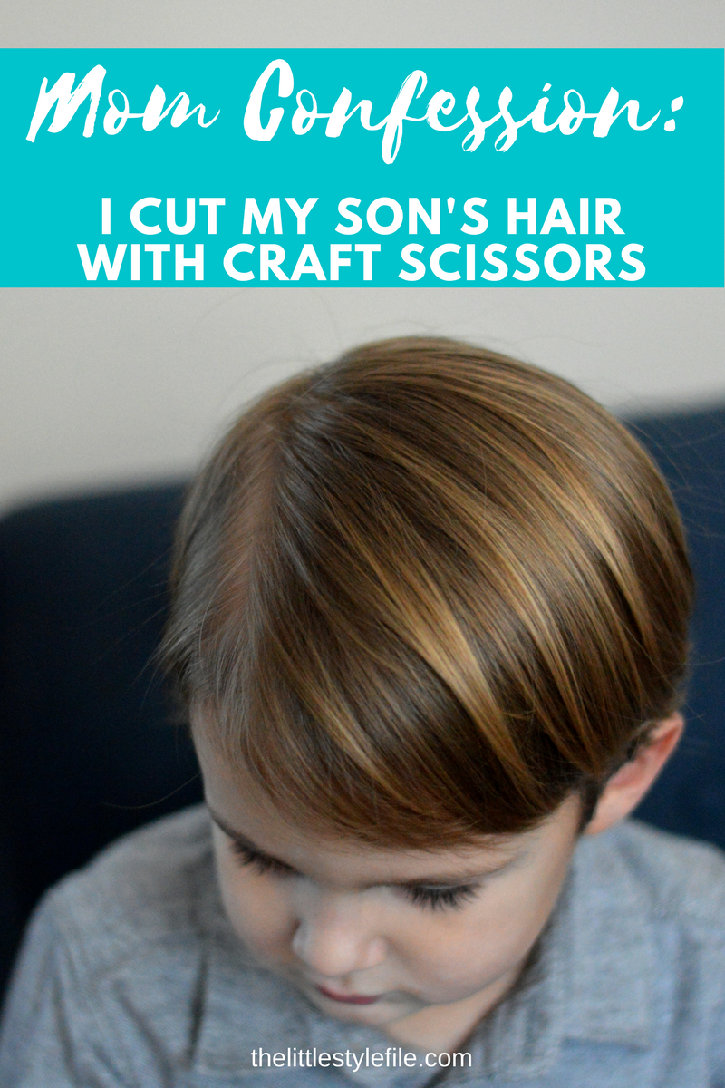 how to cut kids hair at home