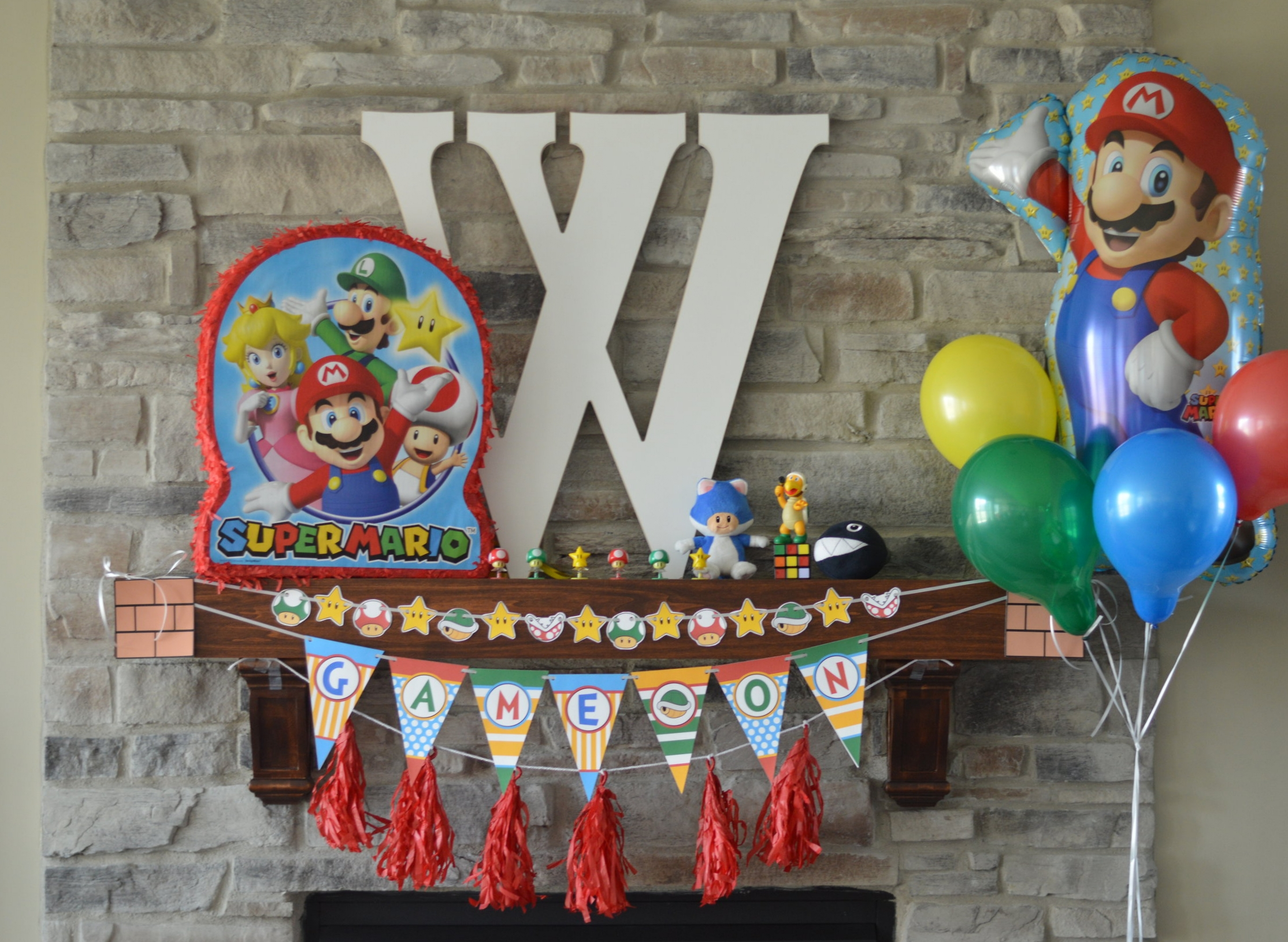 Mario party decorations