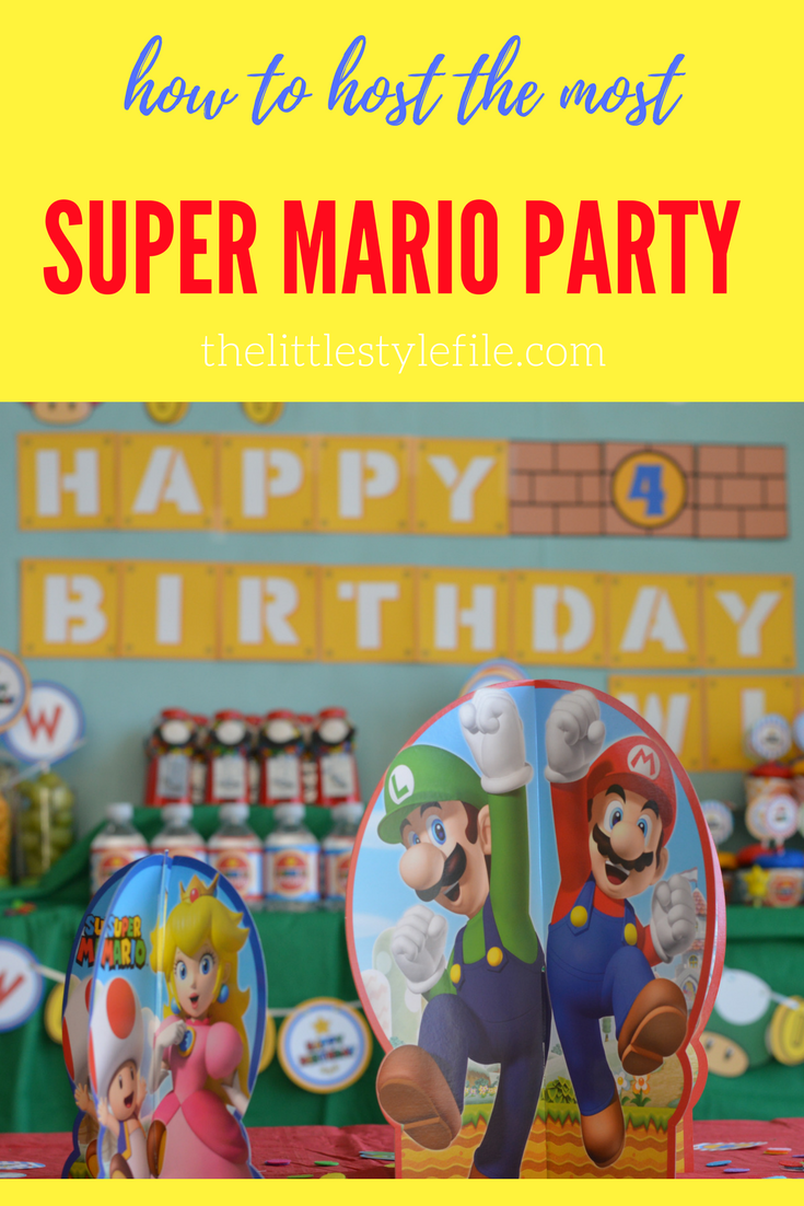 how to host the most super Mario party ever