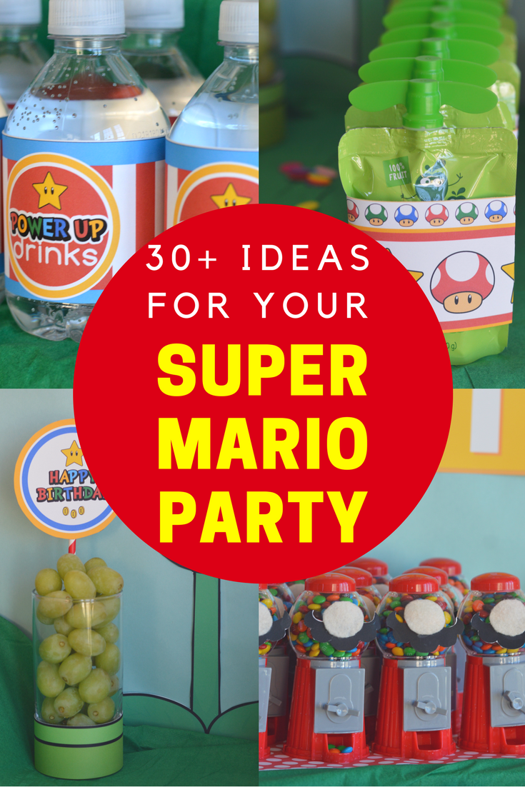 tons of ideas for your super Mario party