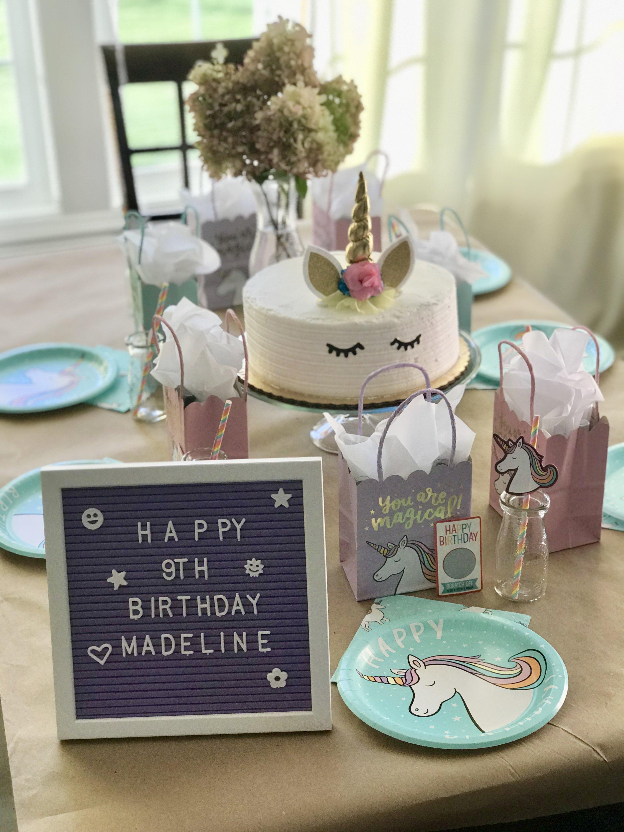 cheap unicorn cake