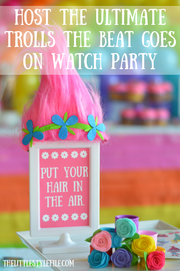 Host the Ultimate Trolls Party via The Little Style File