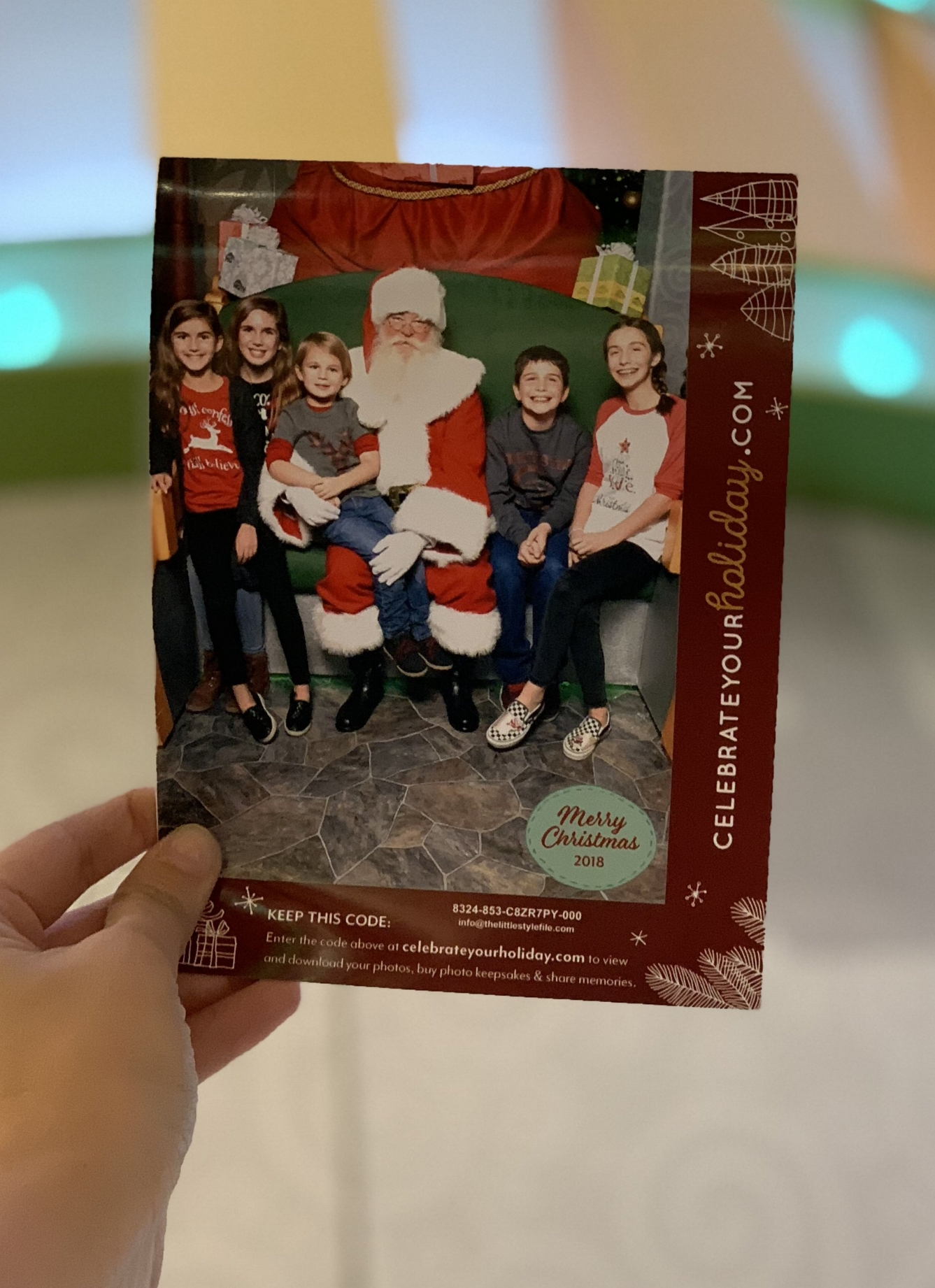 best place to visit santa in chicago
