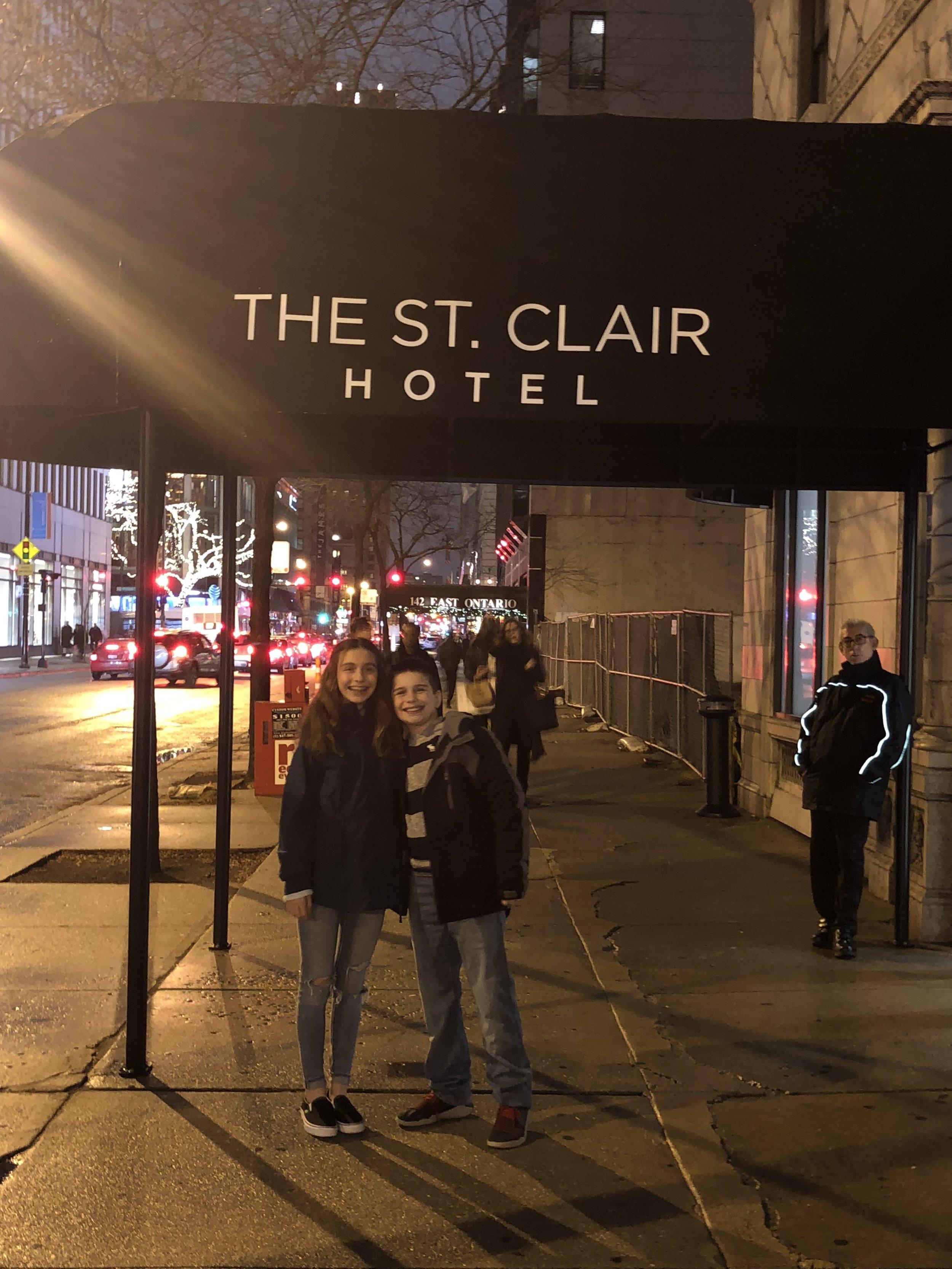 the saint clair hotel