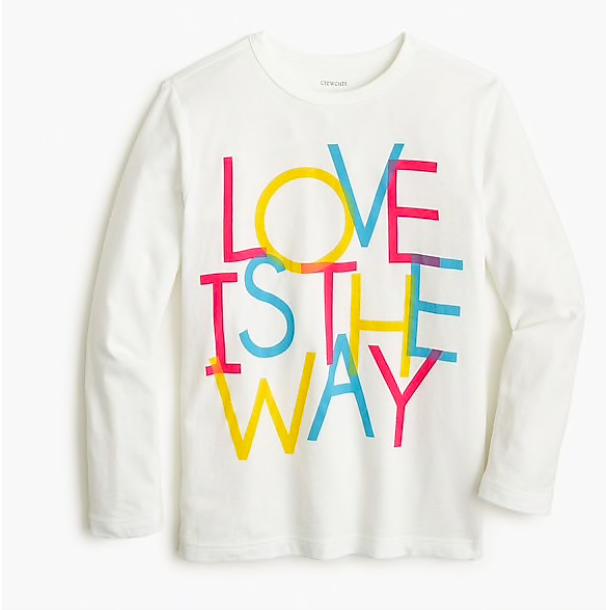 fun Valentine's Day shirts for girls