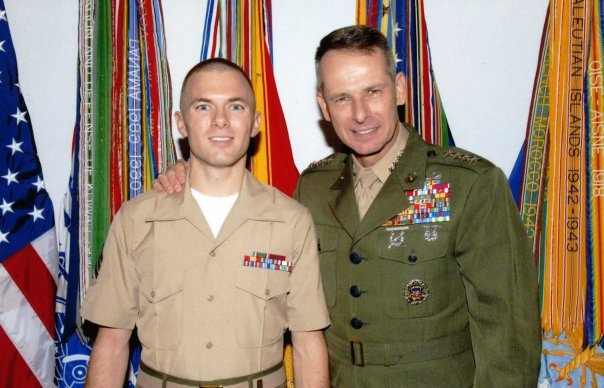 With Gen. Peter Pace, Chairman of the Joint Chiefs