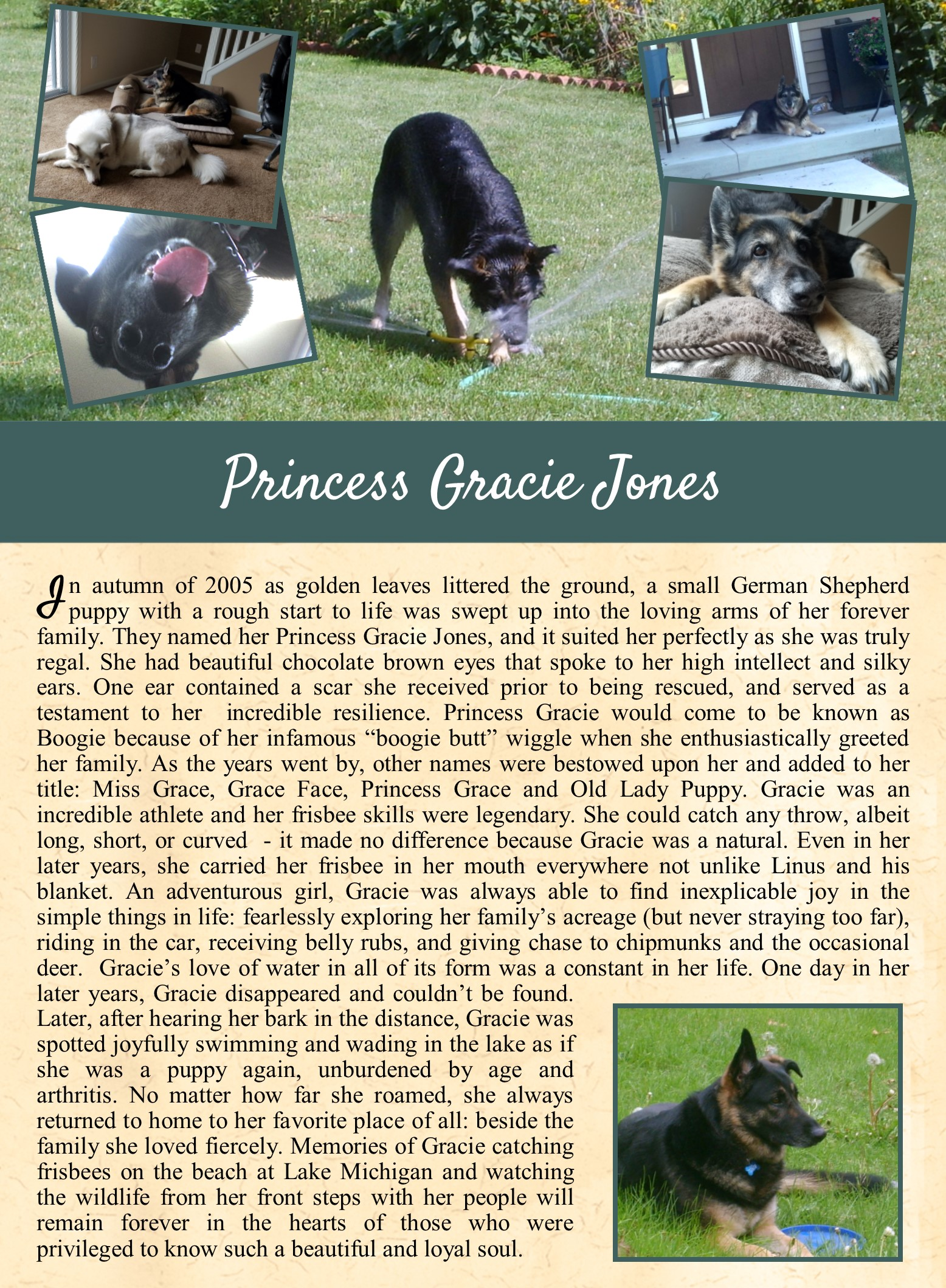 Princess Gracie Jones