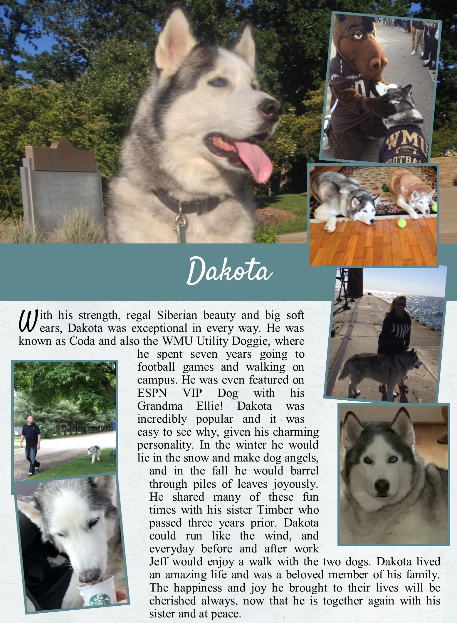 Dakota's Life Tail
