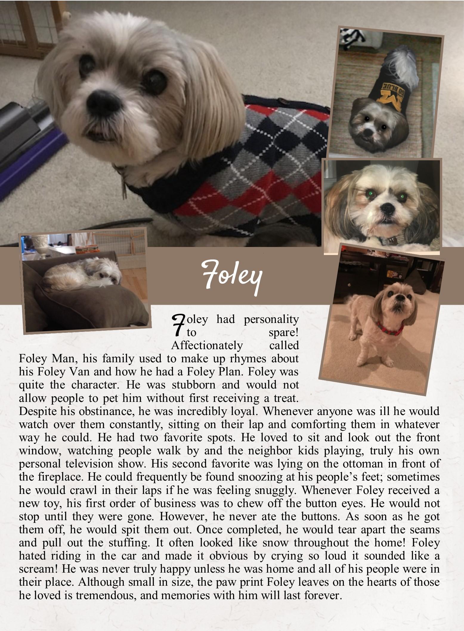 Foley's Life Tail