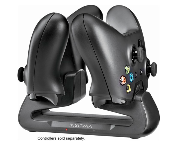 - You'll be able to recharge up to two controllers in an attractive way.$24.99Check It Out