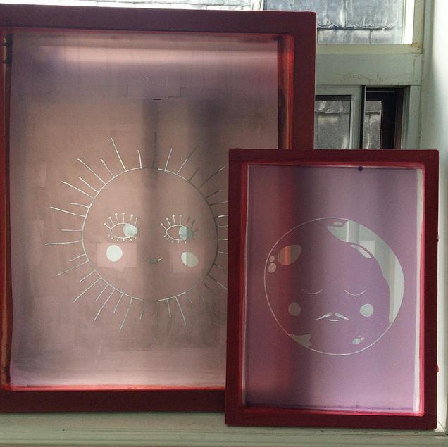 Silkscreens by sun+stars