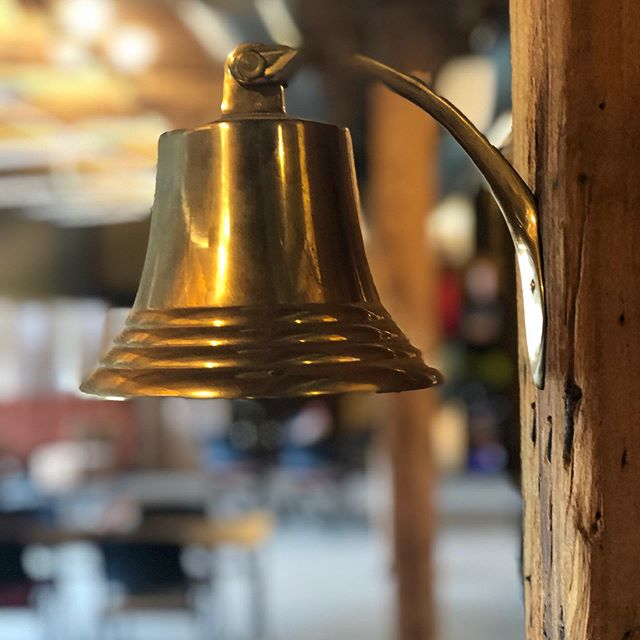 Our neighbors, The Verdin Company, is a world-renowned, six generation family manufacturer and pioneer of cast bronze bells and we're honored to have one in our space. It's a great tool for gathering your attendees back together after their break 🔔😁 • • • • • #cincinnatimeetingspace #meetingspace #offsitemeetingspace #offsitemeeting #meeting #creativespace #uniquemeetingspace #cincinnatispace #otr #overtherhine #downtowncincinnati #smallbusiness #teambuilding #conferencespace #womanownedbusiness
