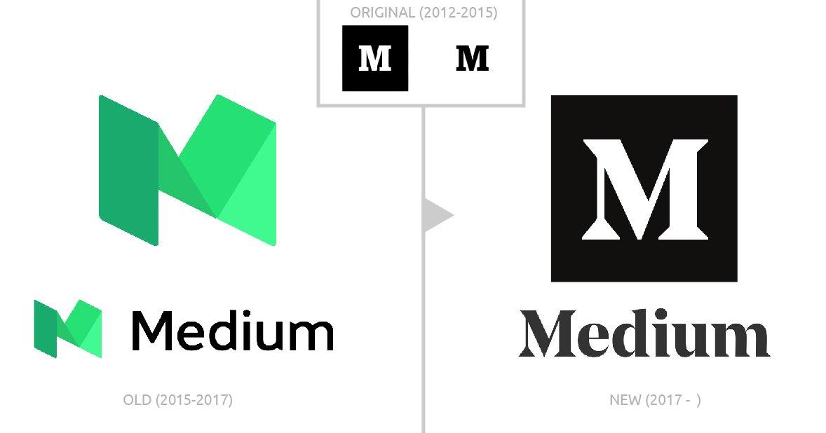 brand new 2017 medium logo identity