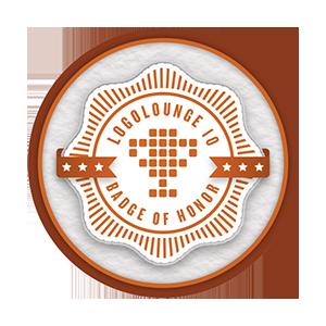 logo lounge book 10 winners award badge