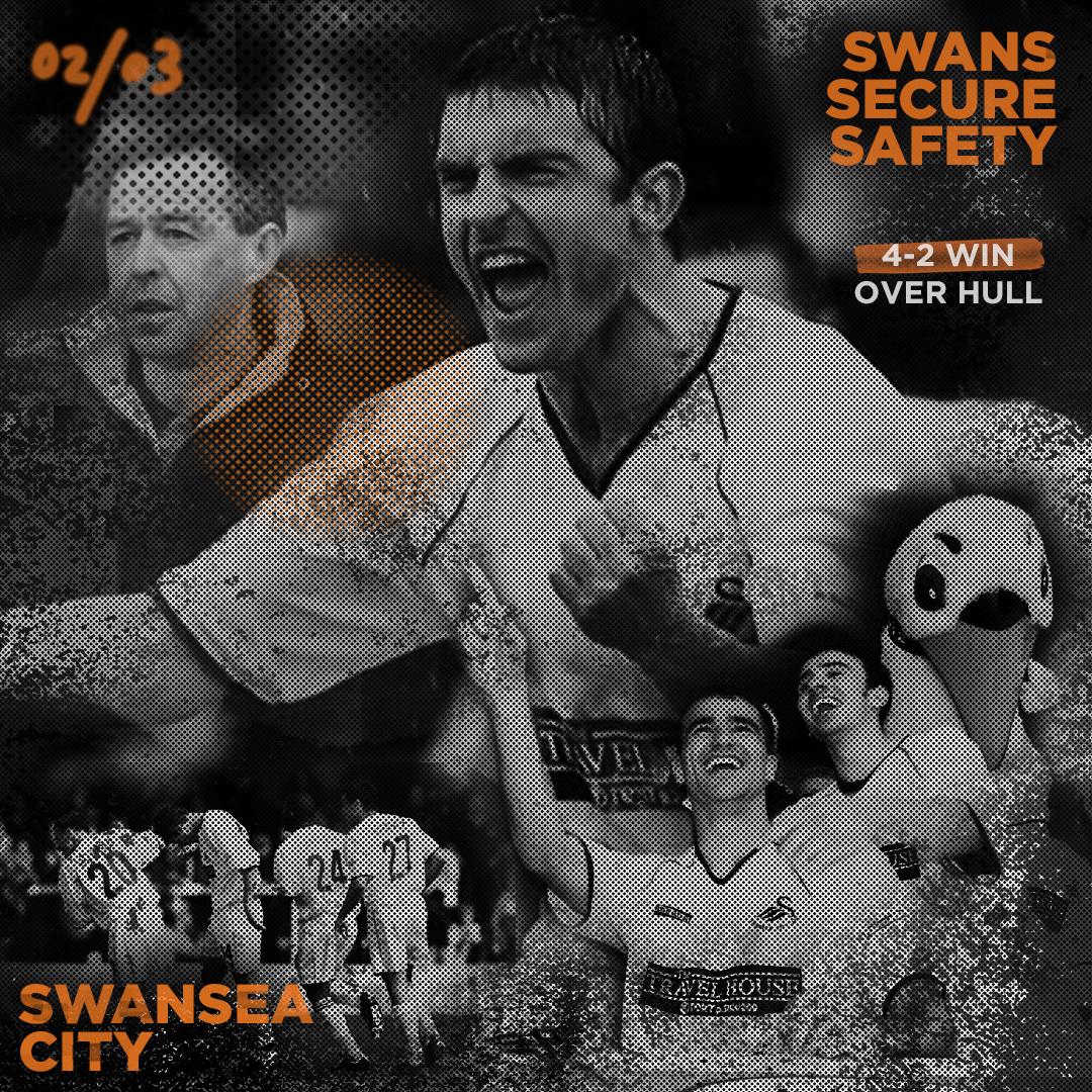 Swansea city afc div 1 1982