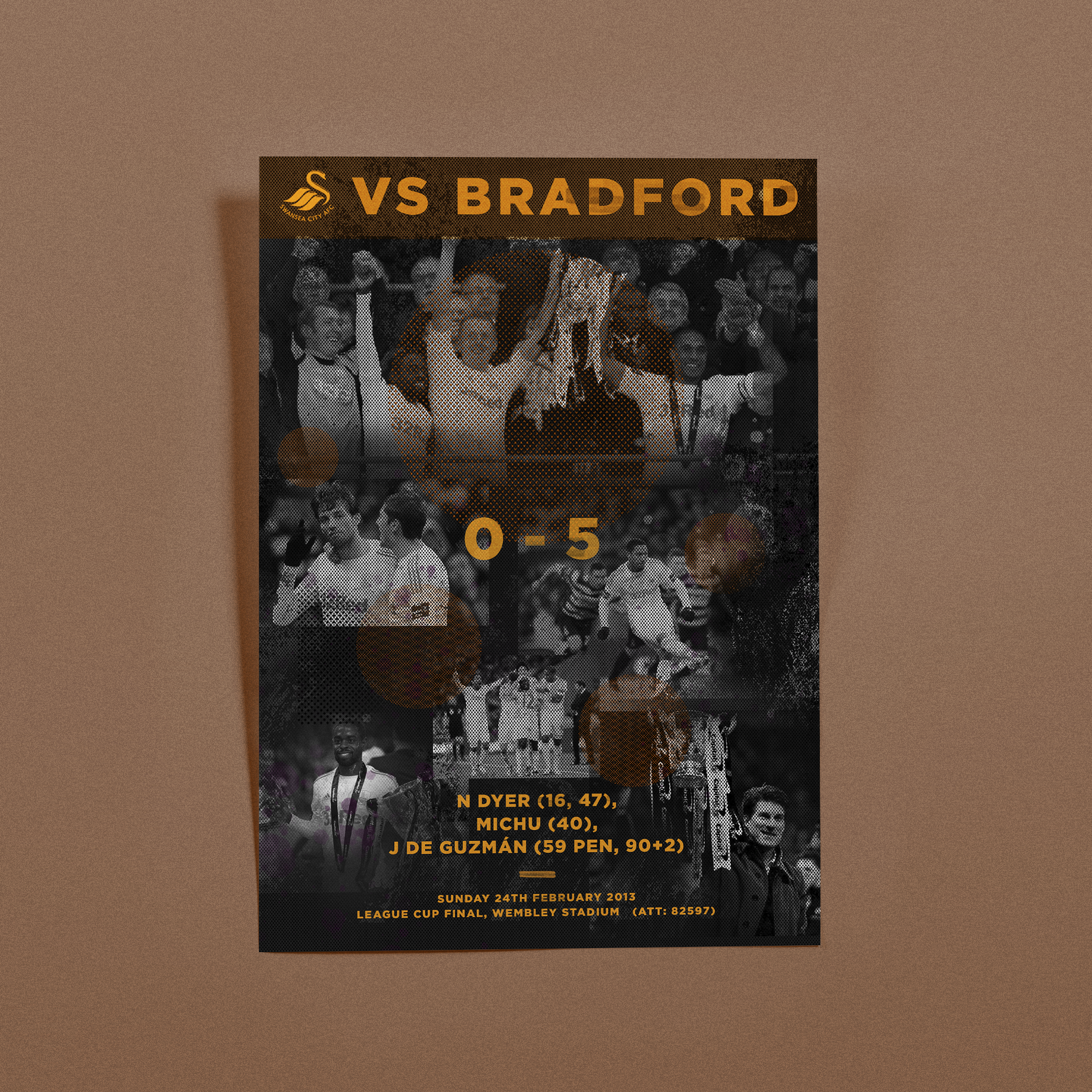 Historic Match Poster