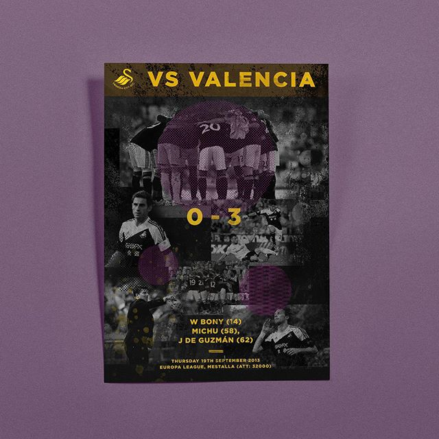 European nights 😍 here is one from @swansofficial trip to @valenciacf back in 2013 - #swansea #swanseacity #artoffootball #footballart #illustration #graphicdesign #illustrationdesign #adobeillustrator #illustrator #football #footballgraphicdesign #footygraphic #football #soccer #soccerplayer #illustration #soccerillustration #footballillustration #swanseacity #swans
