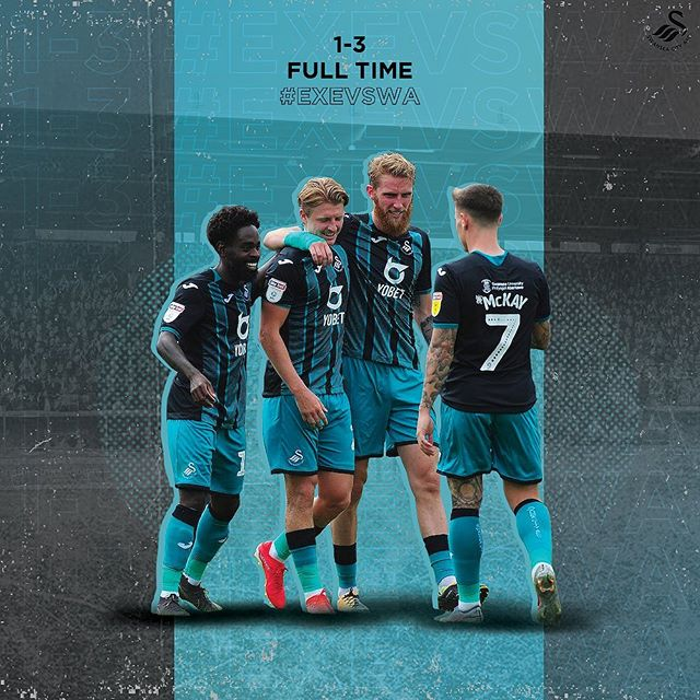 Another win for the Swans. That's 4 from 4 this pre-season. @swansofficial  #swansea #swanseacity #artoffootball #footballart #illustration #graphicdesign #illustrationdesign #adobeillustrator #illustrator #football #footballgraphicdesign #footygraphic #football #soccer #soccerplayer #illustration #soccerillustration #footballillustration #swanseacity #swans