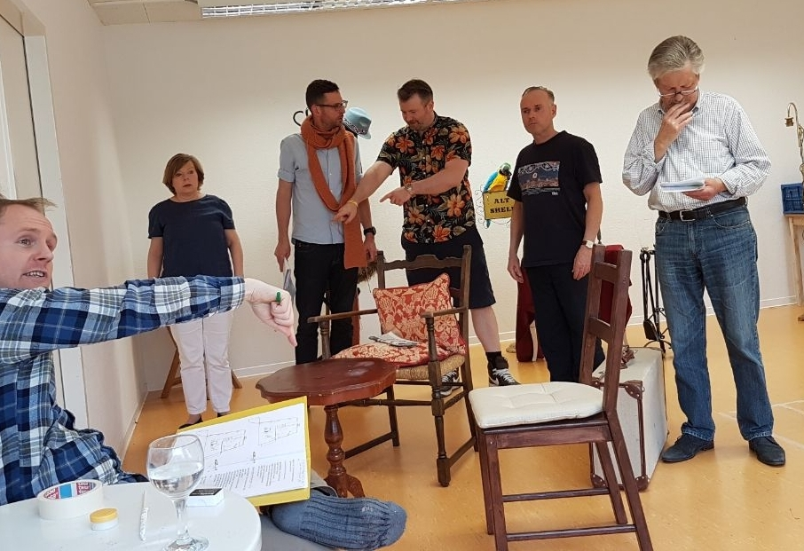 "Rehearsal for ""The Ladykillers"""