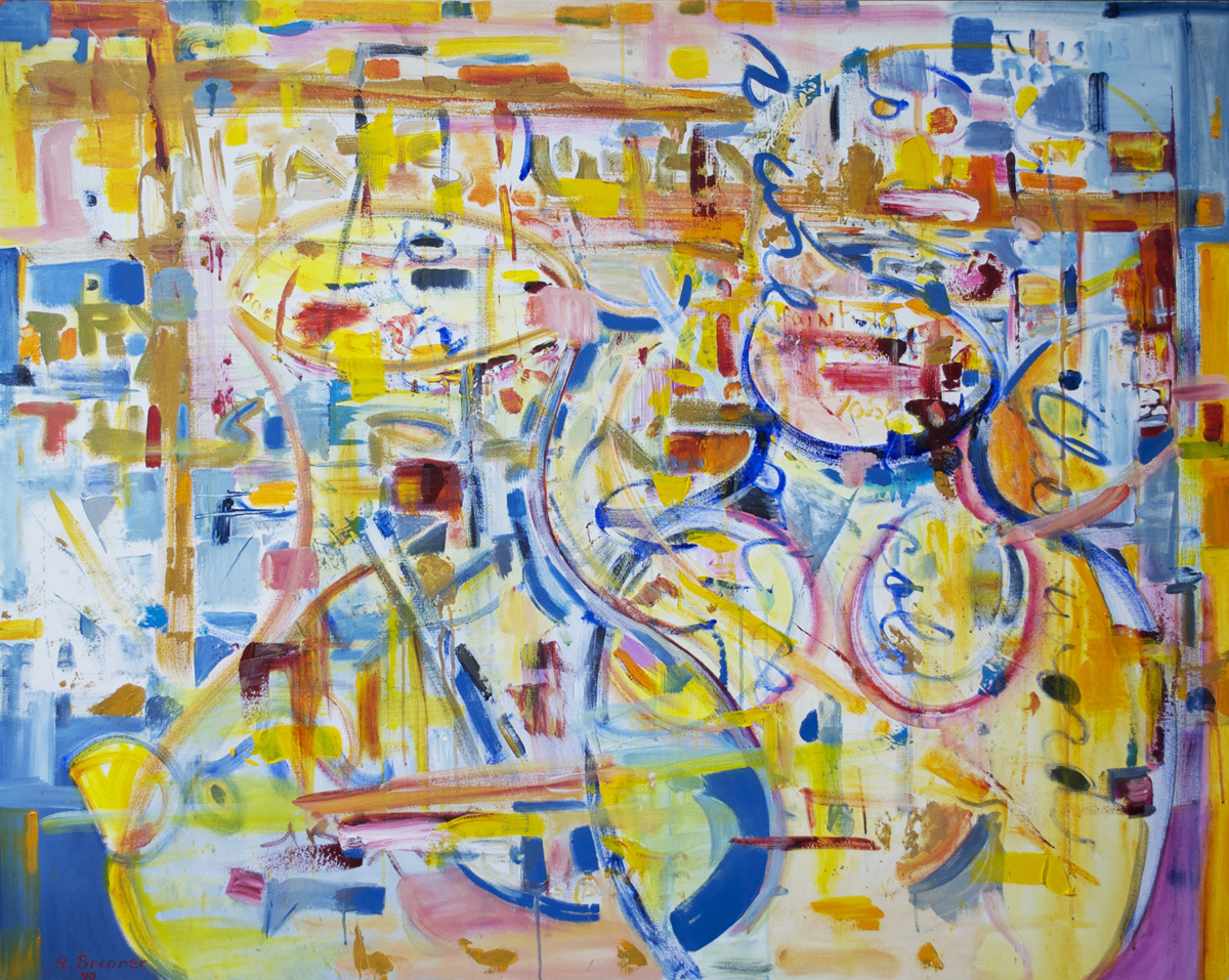 "That's Why  2010 48"" x 60"" Acrylic on Canvas"