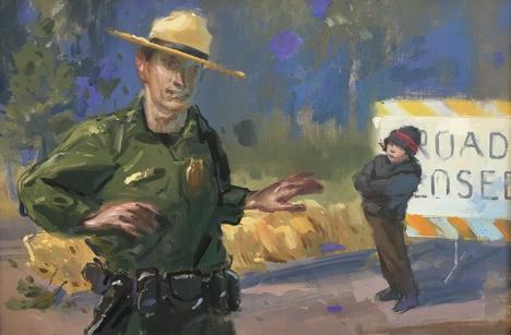 The Ranger Describes The Lake