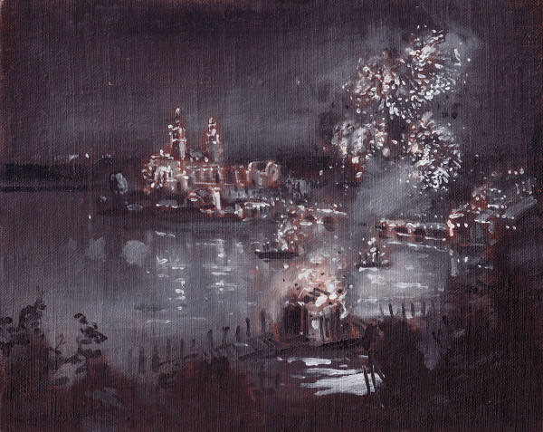 Guild's Lake during the Attack on Fort Moro