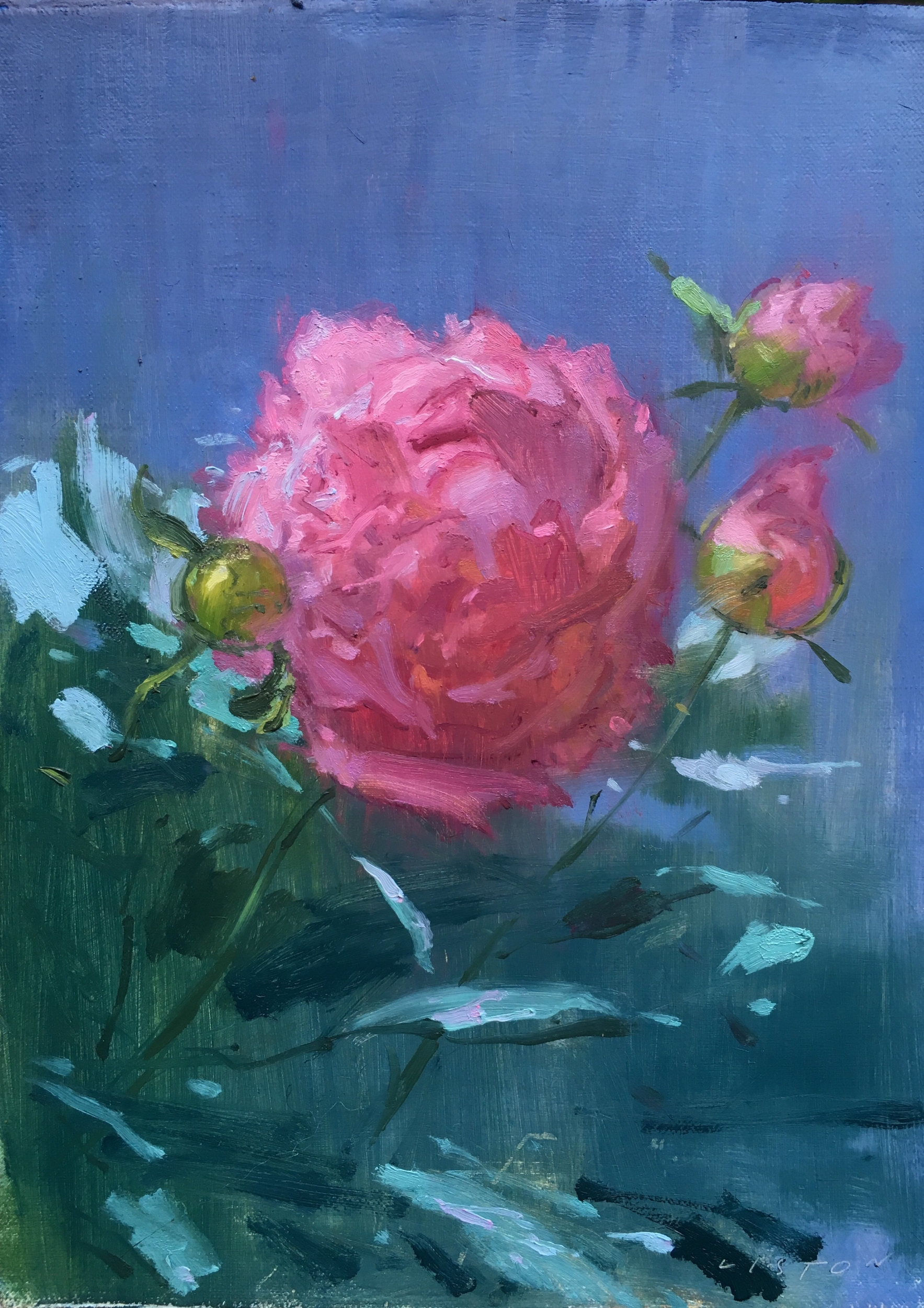 Peonies (A Space Opera)
