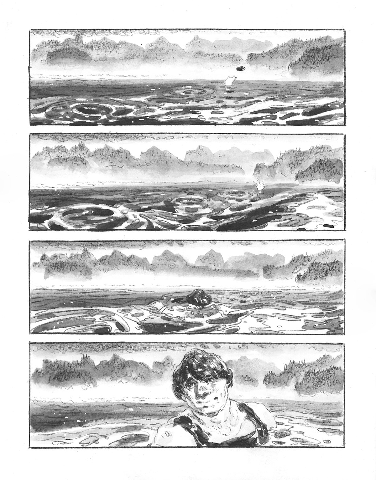 The Town That Fell Into the Sea, page 5