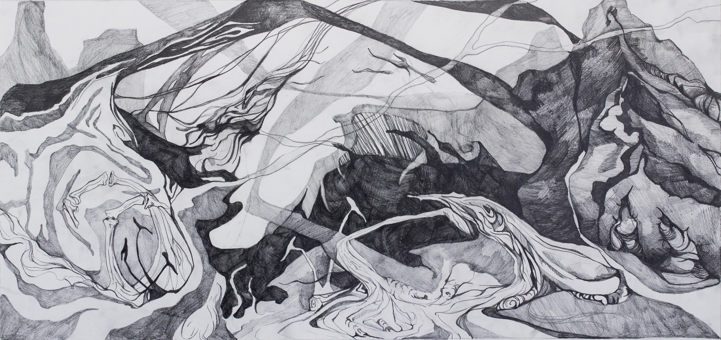 Dystopian Landscape (sketch)