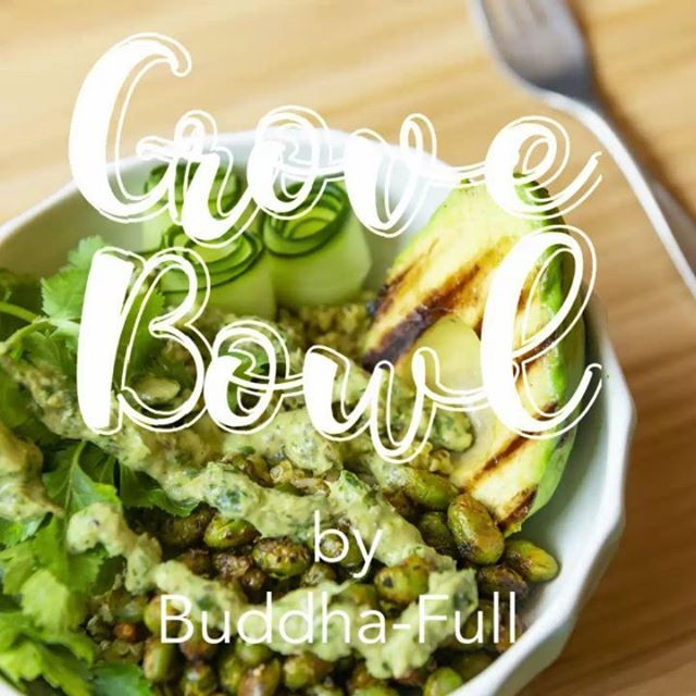 Need some more greenery in your life? The Grove Bowl from @BuddhaFullProvisions has you covered. Delicious, packed with goodness and delicious. Check out the recipe on page 52 of The Plant-based Foodie Vancouver.