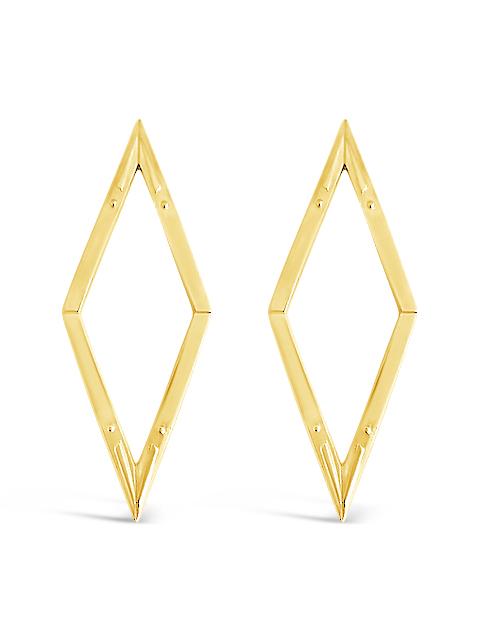 Diamond Back Earrings