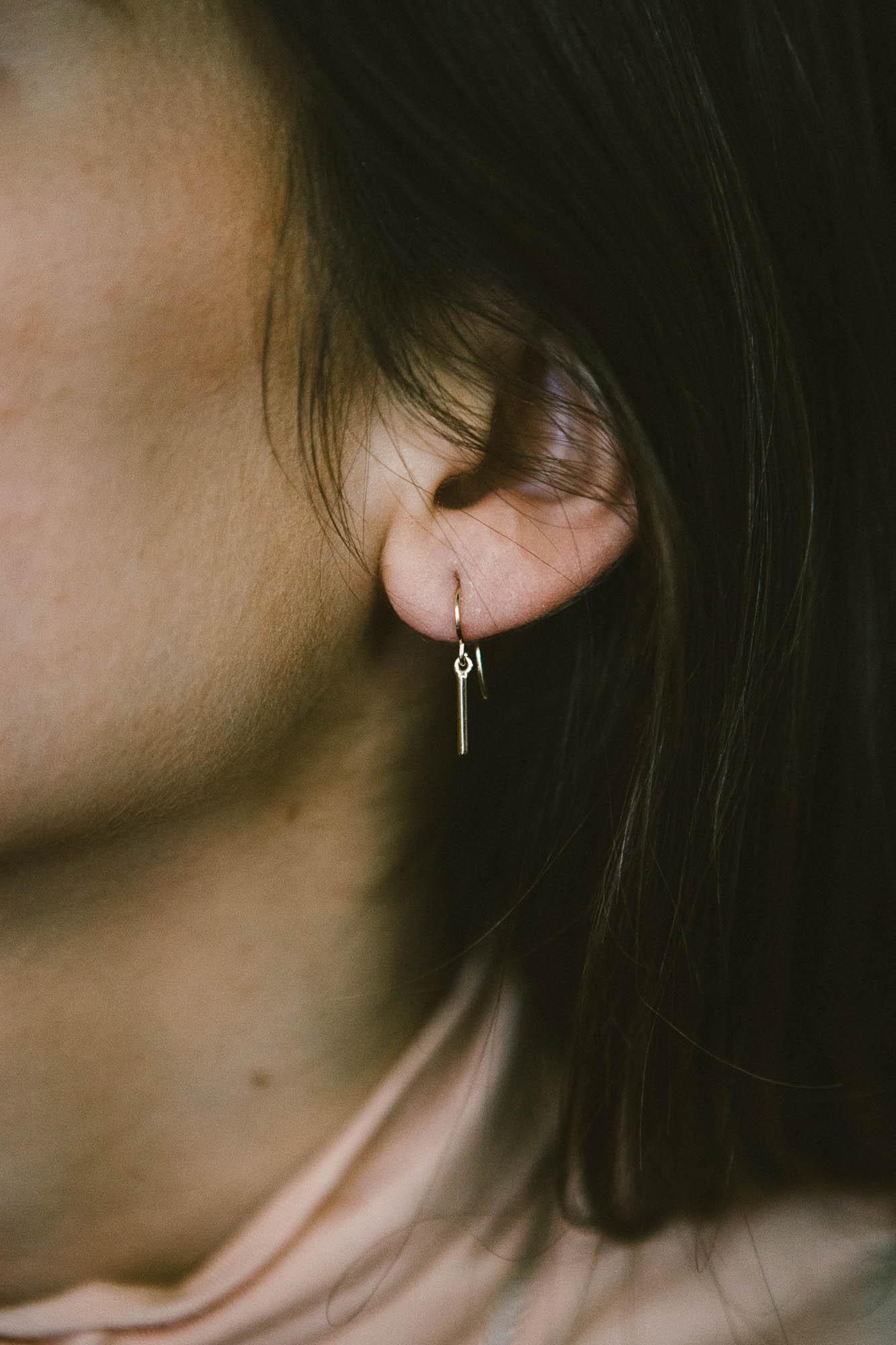 Side Kick Earrings, $39