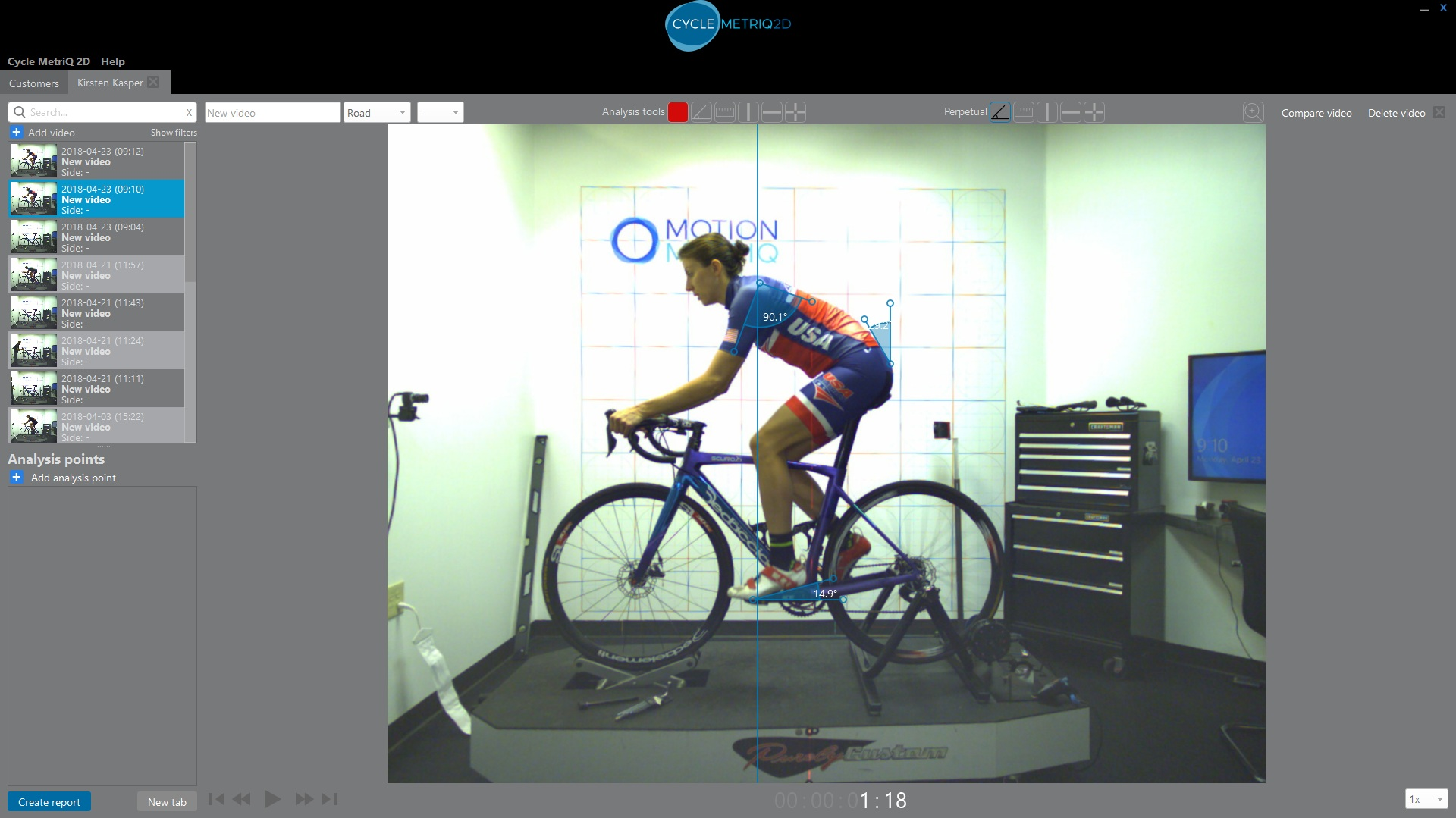 High Speed Motion Capture Software  From  MOTION METRIQ