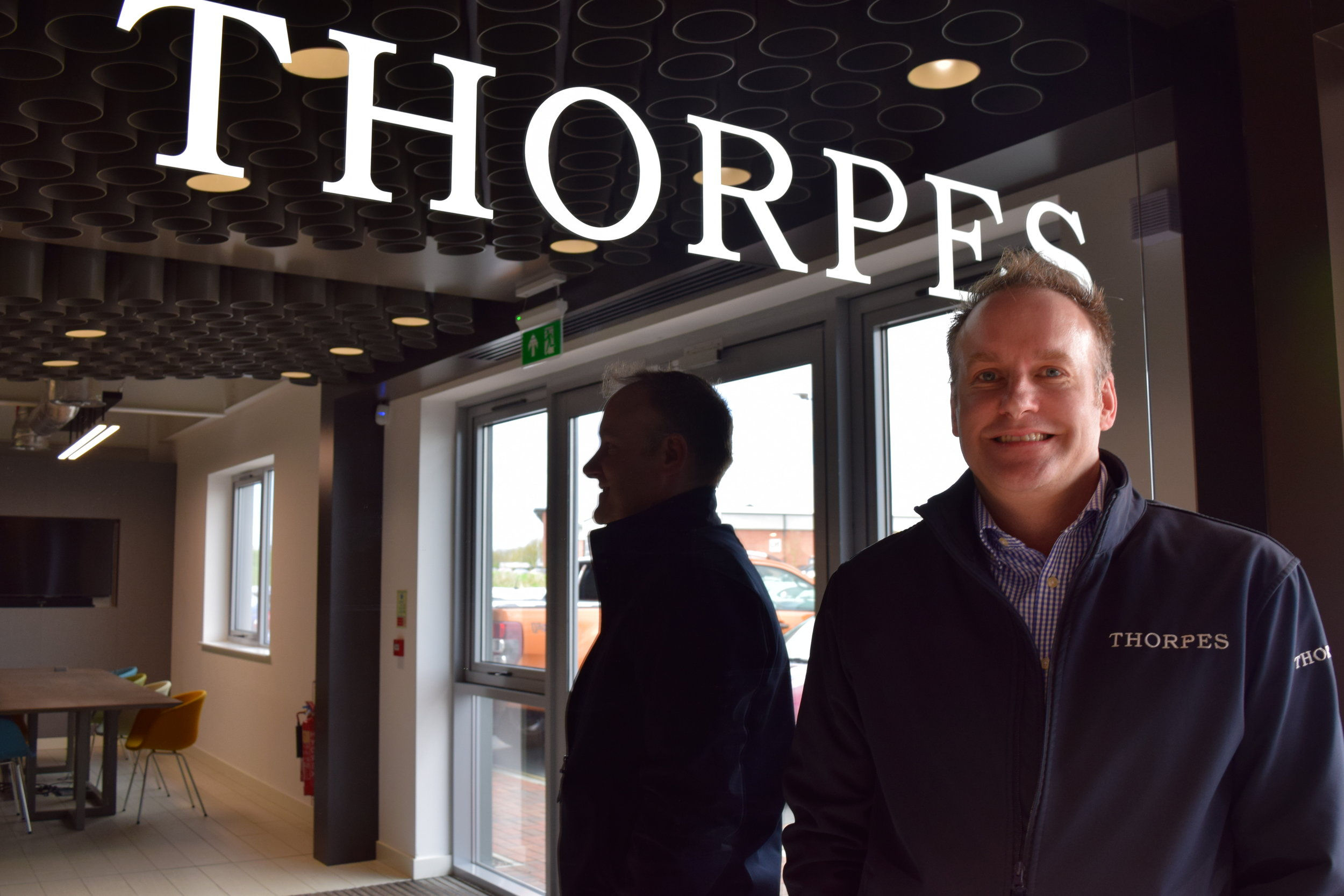 David Dean becomes Managing Director at Thorpes Joinery after nearly 17 years with the company