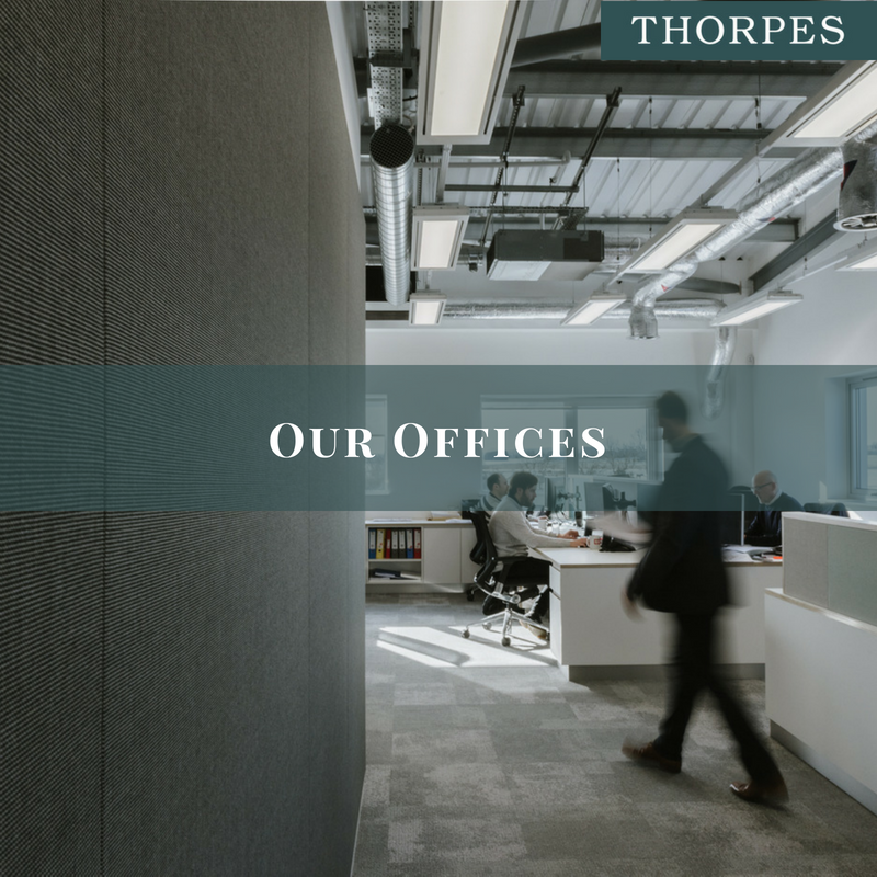Thorpes Joinery, New HQ in Market Harborough - focus on Offices