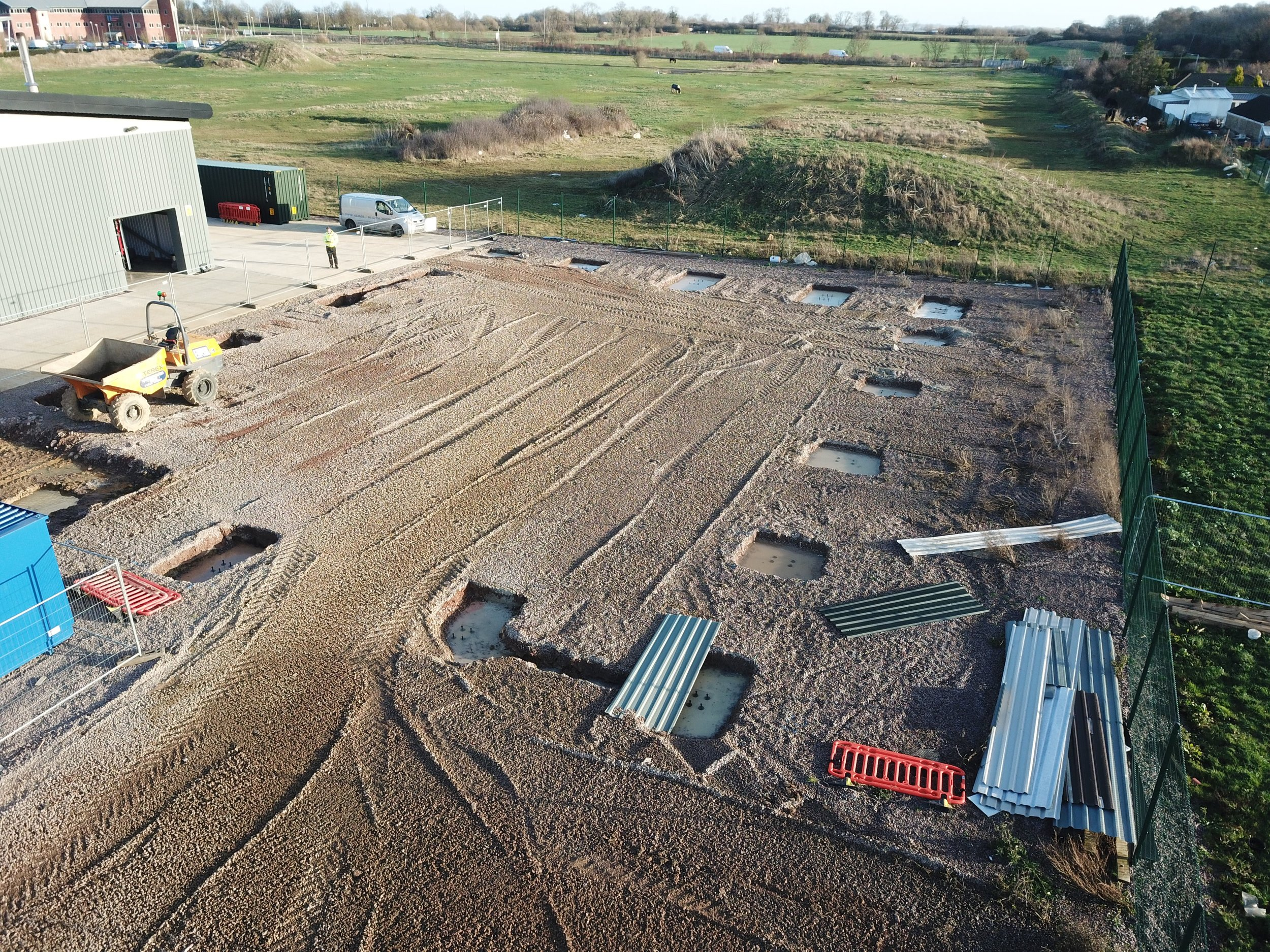 Thorpes New Storage - Overview