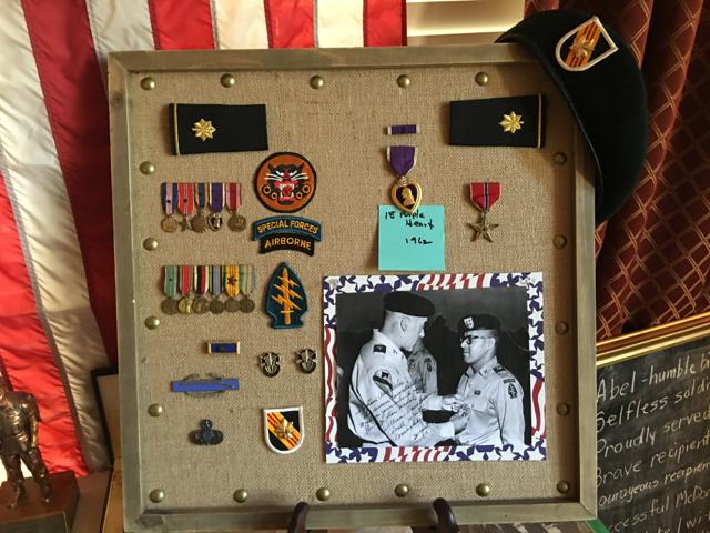 1st Purple Heart 1962 - 2 Bronze Stars