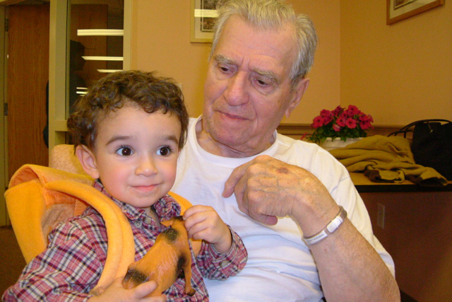Timothy and Great Papou