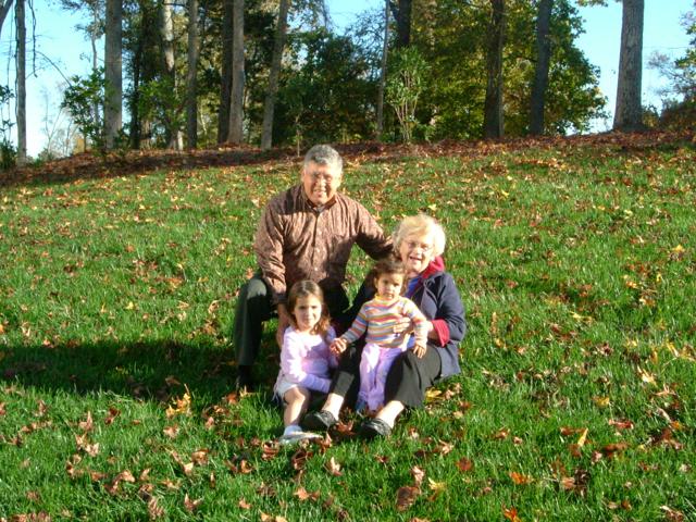 Great Grandchildren Laura and Audrey
