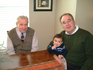 Great Papou, Papou, and Timothy