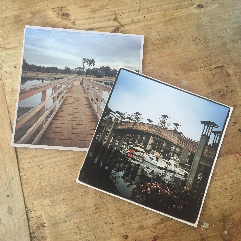 8 x 8 prints from Instagram