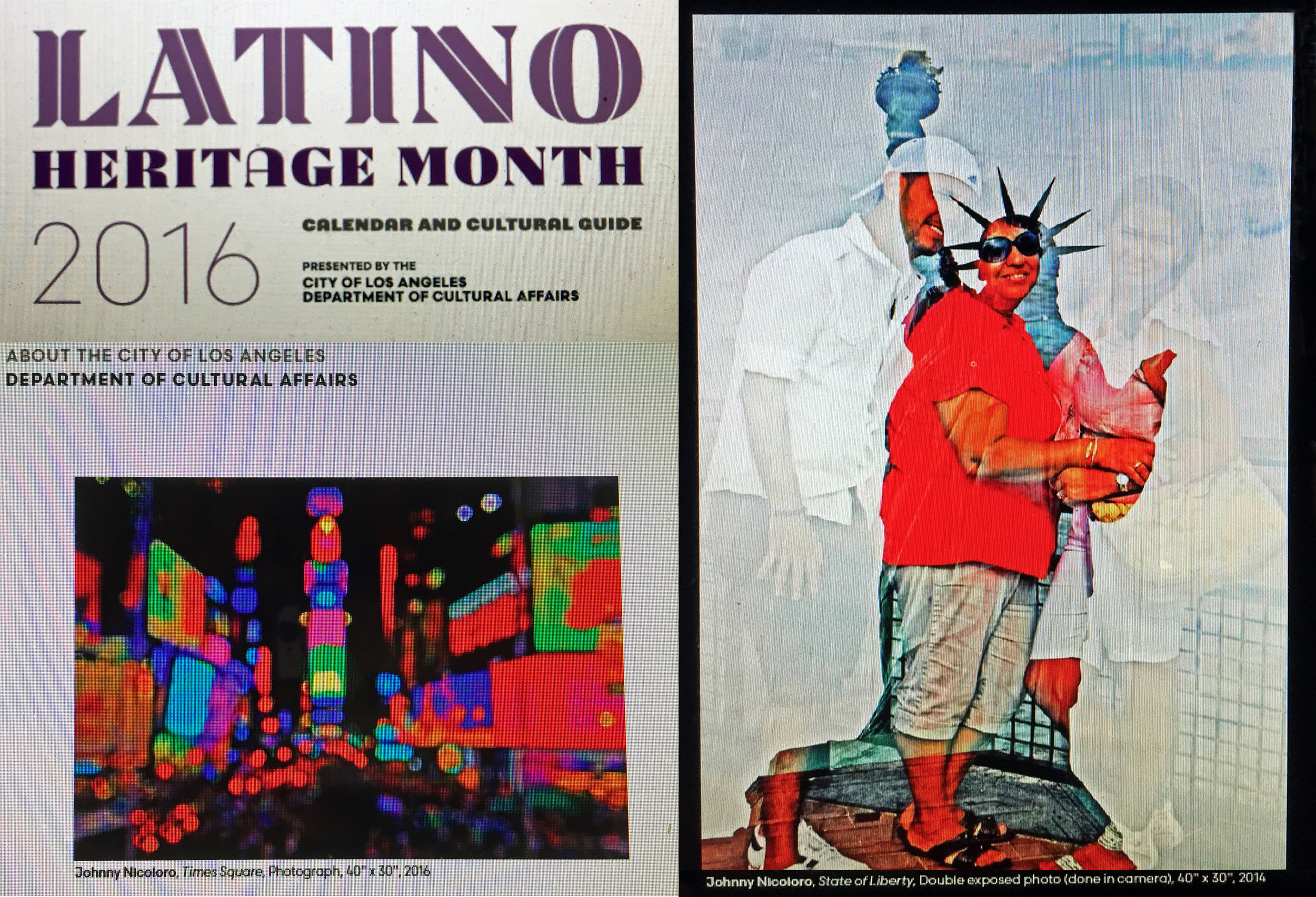 happy to be published 8th consecutive year  Times Square and State of Liberty