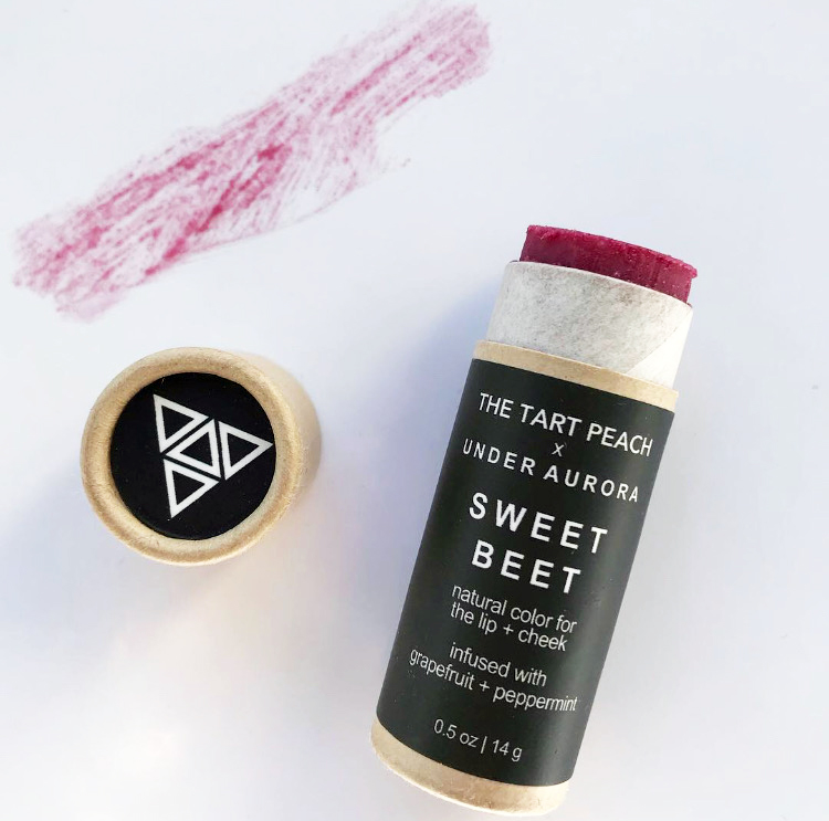 Under Aurora Sweet Beet Lip & Cheek Tint