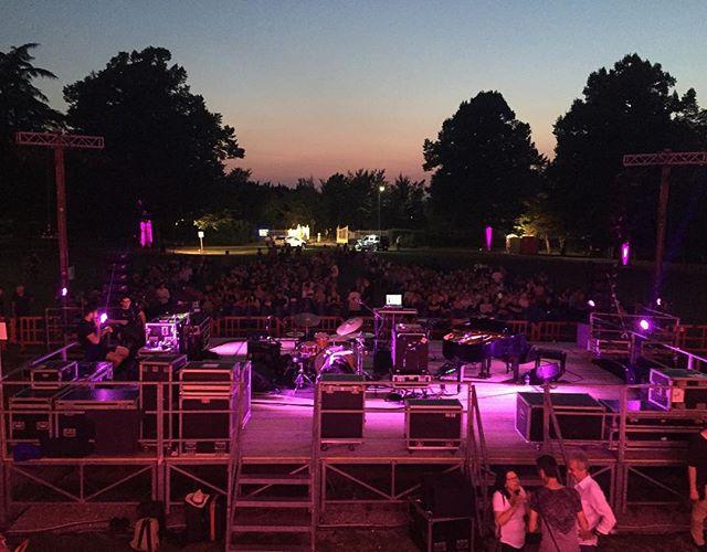 Singing with the crickets last night at the Villa Arno in Albinea, Italia. Ancora uno, tonight in Fano 🇮🇹 #terenceblanchardecollective