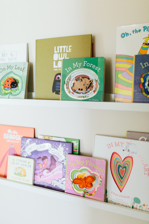 Baby Girl Nursery Books - Akin Design Studio