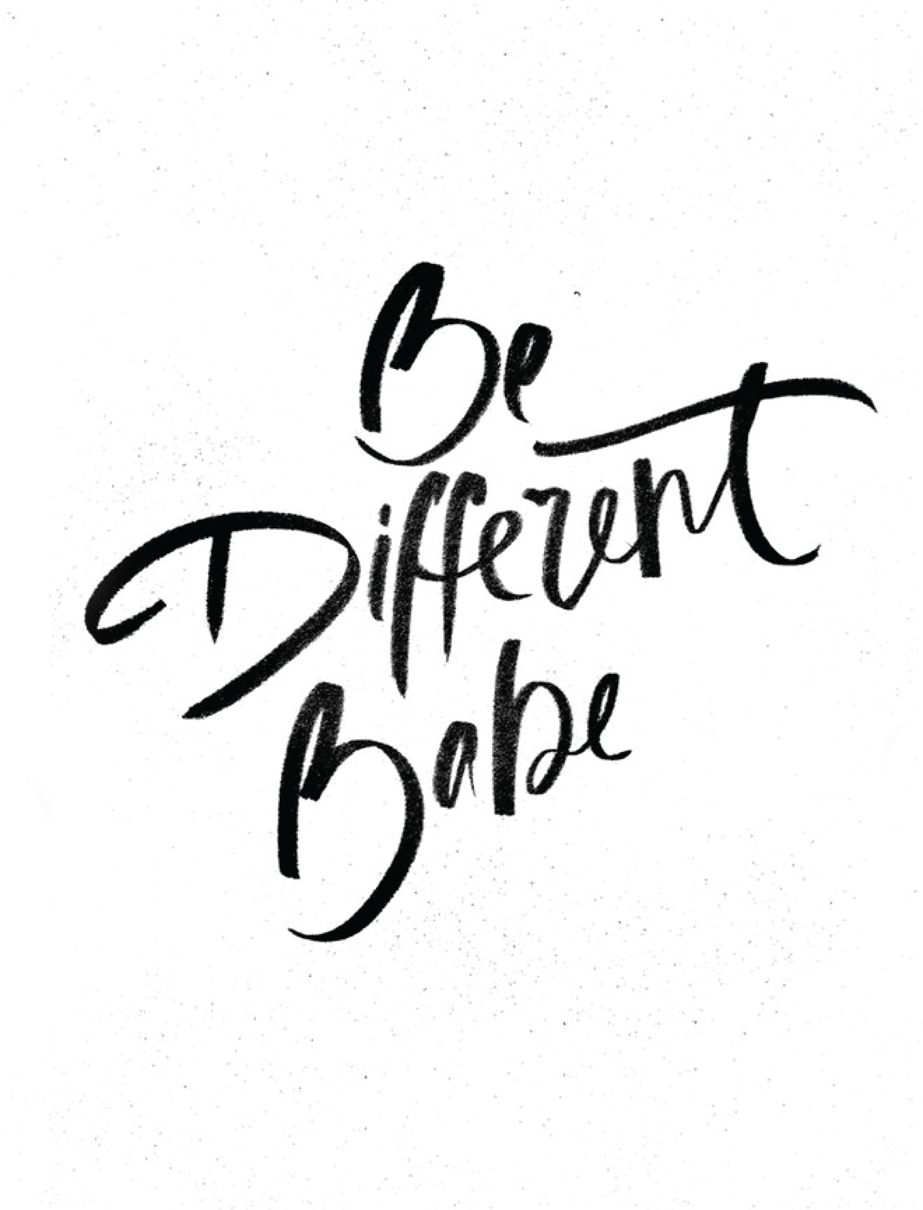 Be Different | Akin Design Studio