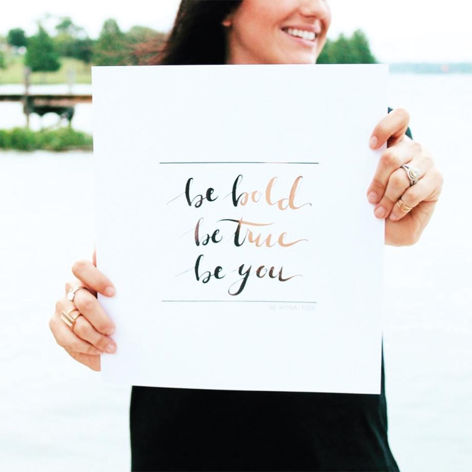 Be Bold, Be True, Be You | Akin Design Studio